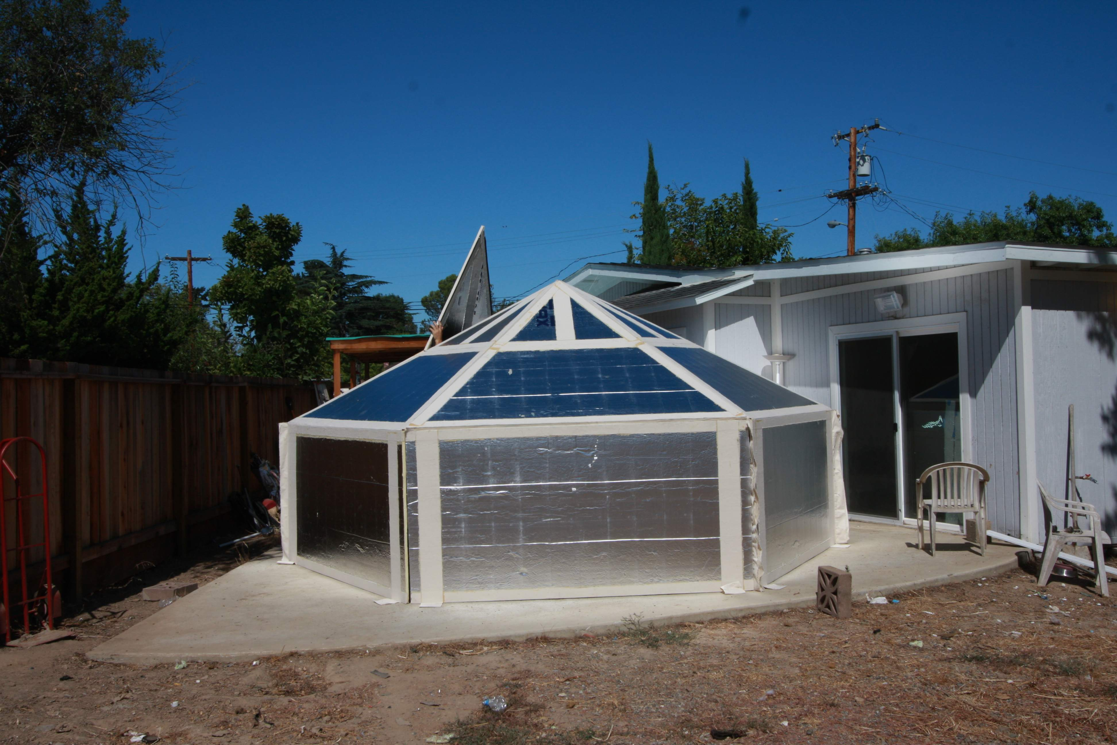 How To Build A  Man Yurt